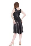 dragonfly wing velvet dress - Poema Tango Clothes: handmade luxury clothing for Argentine tango