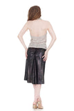 dragonfly wing velvet skirt - Poema Tango Clothes: handmade luxury clothing for Argentine tango
