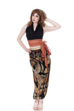 fan fan velvet tango trousers - Poema Tango Clothes: handmade luxury clothing for Argentine tango