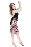flushed roses draped & ruched skirt - Poema Tango Clothes: handmade luxury clothing for Argentine tango