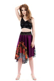 flying colors skirt - Poema Tango Clothes: handmade luxury clothing for Argentine tango