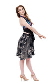 fractal forest circle skirt - Poema Tango Clothes: handmade luxury clothing for Argentine tango