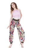 garden painted roses tango trousers - Poema Tango Clothes: handmade luxury clothing for Argentine tango