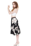 gardenia skirt - Poema Tango Clothes: handmade luxury clothing for Argentine tango