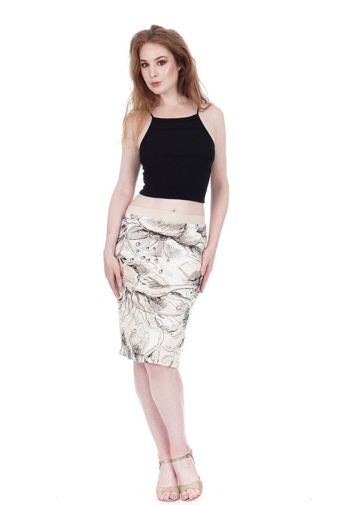 https poemaclothing com products hasty sketch pencil skirt 3458