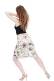 hasty sketch pencil skirt - Poema Tango Clothes: handmade luxury clothing for Argentine tango