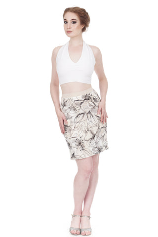 hasty sketch pencil skirt