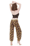 hazy palms tango trousers - Poema Tango Clothes: handmade luxury clothing for Argentine tango