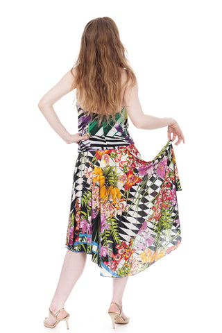 hothouse flower circle skirt - CLEARANCE