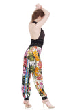 hothouse flower tango trousers - Poema Tango Clothes: handmade luxury clothing for Argentine tango