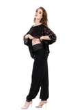 inky and french forest tango trousers - Poema Tango Clothes: handmade luxury clothing for Argentine tango