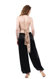 inky silk tango trousers - Poema Tango Clothes: handmade luxury clothing for Argentine tango