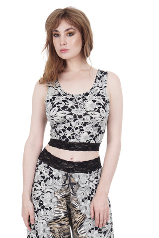lace menagerie dance tank