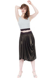 liquid moonlight bustle skirt - Poema Tango Clothes: handmade luxury clothing for Argentine tango