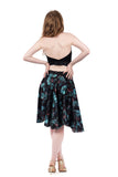 mazarine blooms circle skirt - Poema Tango Clothes: handmade luxury clothing for Argentine tango