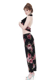 monet velvet dance trousers - Poema Tango Clothes: handmade luxury clothing for Argentine tango