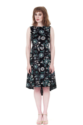 moonflower velvet dress - CLEARANCE