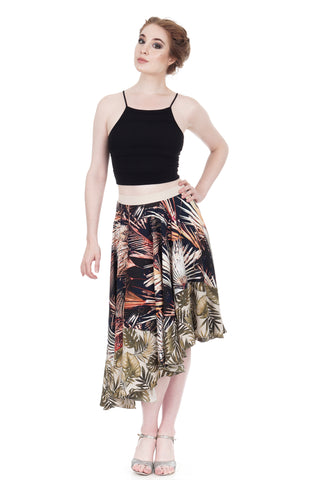 night palms & ferns skirt