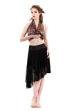 night sky skirt - Poema Tango Clothes: handmade luxury clothing for Argentine tango
