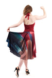 palette wash skirt - Poema Tango Clothes: handmade luxury clothing for Argentine tango