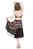 pear blossom in twilight circle skirt - Poema Tango Clothes: handmade luxury clothing for Argentine tango