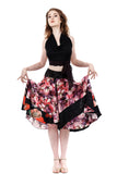 photopetal circle skirt - Poema Tango Clothes: handmade luxury clothing for Argentine tango