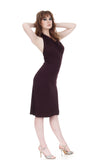 raisin halter dress - Poema Tango Clothes: handmade luxury clothing for Argentine tango