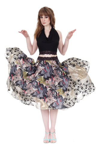 royal tapestry skirt