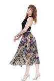 royal tapestry skirt - Poema Tango Clothes: handmade luxury clothing for Argentine tango