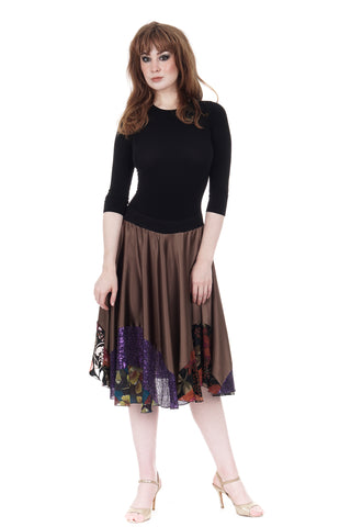 sable & sequin skirt