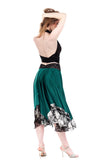 scarab dream circle skirt - Poema Tango Clothes: handmade luxury clothing for Argentine tango