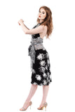 sea holly & snowflake lace fluted skirt