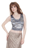 silver sky tank - Poema Tango Clothes: handmade luxury clothing for Argentine tango