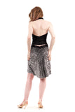 silver tile skirt - Poema Tango Clothes: handmade luxury clothing for Argentine tango