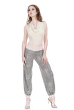 snow shimmer tango trousers - Poema Tango Clothes: handmade luxury clothing for Argentine tango