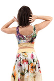 spring painting dance tank - Poema Tango Clothes: handmade luxury clothing for Argentine tango