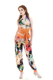spring painting tango pants - Poema Tango Clothes: handmade luxury clothing for Argentine tango