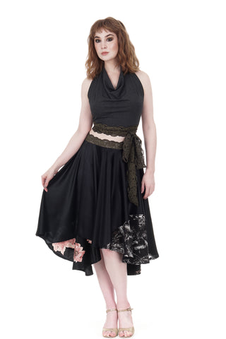 tattered flowers & tatter blooms skirt - CLEARANCE