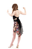the signature skirt in candy shop bouquet - Poema Tango Clothes: handmade luxury clothing for Argentine tango
