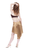 the signature skirt in champagne and blush lace - Poema Tango Clothes: handmade luxury clothing for Argentine tango