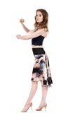 the signature skirt in dreamclouds silk - Poema Tango Clothes: handmade luxury clothing for Argentine tango