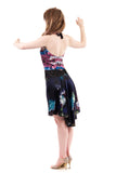 the signature skirt in midnight garden - Poema Tango Clothes: handmade luxury clothing for Argentine tango