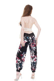 tryst bouquet tango trousers - Poema Tango Clothes: handmade luxury clothing for Argentine tango