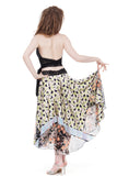twilight dreams silk & sequin skirt - Poema Tango Clothes: handmade luxury clothing for Argentine tango