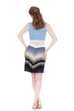 twilight ombre short skirt - Poema Tango Clothes: handmade luxury clothing for Argentine tango