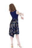 twilight sky dress - Poema Tango Clothes: handmade luxury clothing for Argentine tango