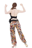 watercolor field silk tango trousers - Poema Tango Clothes: handmade luxury clothing for Argentine tango