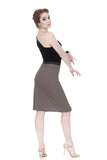whisper stripe pencil skirt - Poema Tango Clothes: handmade luxury clothing for Argentine tango