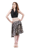 wild child butterflies circle skirt - Poema Tango Clothes: handmade luxury clothing for Argentine tango
