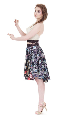 wings in the garden circle skirt